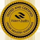 WQA Gold Seal Certification